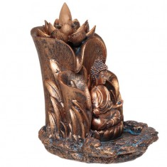Buddha - Backflow Incense Cone Burner angle