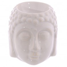 Buddha Head White