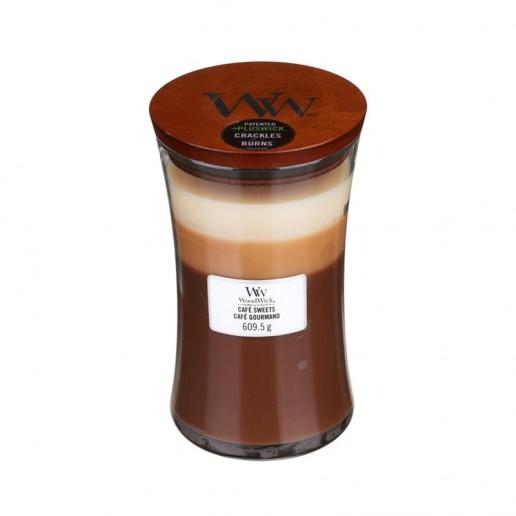 Café Sweets - WoodWick Trilogy Large Jar