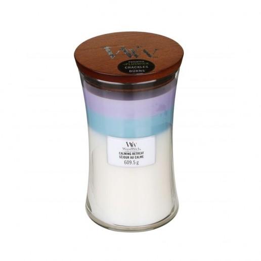 Calming Retreat - WoodWick Trilogy Large Jar
