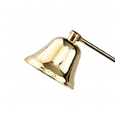 Candle Snuffer - Gold detail