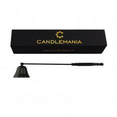 Candle Snuffer - Gunmetal Black