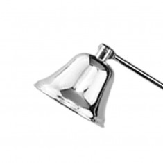 Candle Snuffer - Silver detail