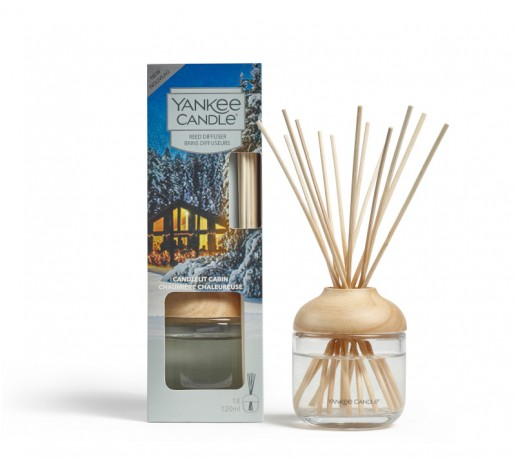 Candlelit Cabin - Yankee Candle Reed Diffuser