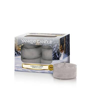 Candlelit Cabin - Yankee Candle Tea Lights