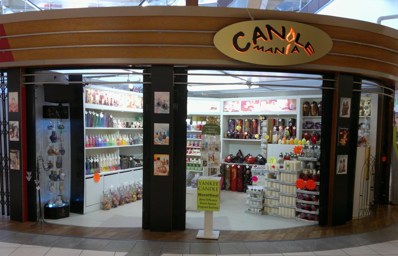 Candlemania Kiosk in Merchants Quay Shopping Centre 2012