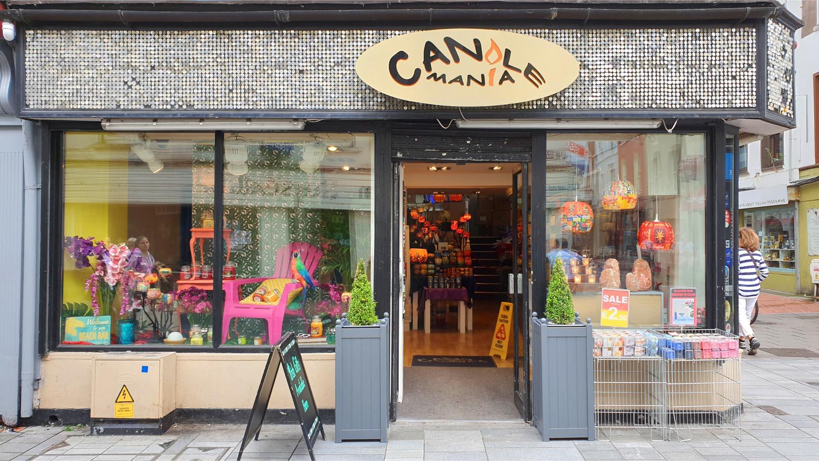 Candlemania Yankee Candle Specialist 2019 Oliver Plunkett Street Cork City Ireland