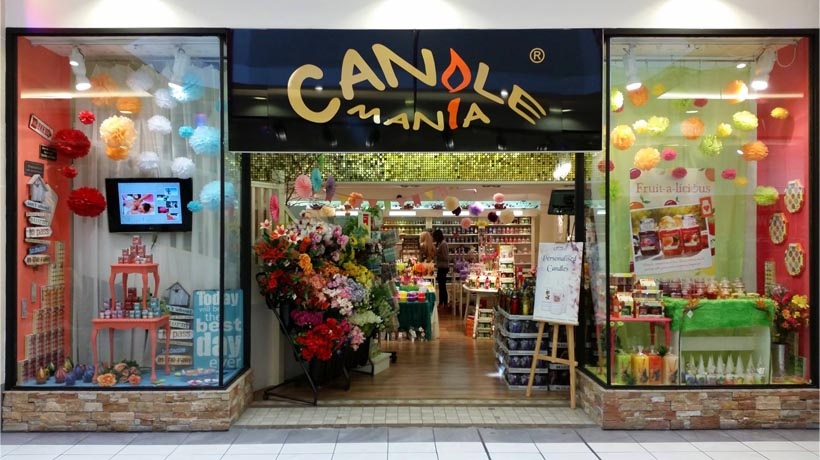 Candlemania Yankee Candle Store Merchants Quay Shopping Centre Summer 2014