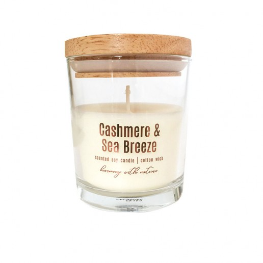 Cashmere & Sea Breeze - Scented Soy Candle