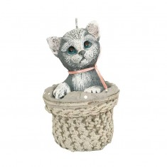 Cat Handmade Gift Candle