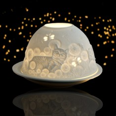 Glowing Domes Candle Holders