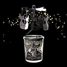 Cat - Spinning Tea Light Candle Holder
