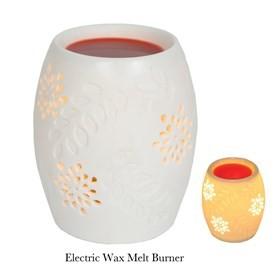 Ceramic Electric Wax Melt Burner - Flowers