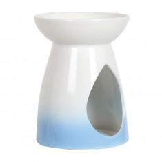 Ceramic Wax Melt Oil Burner - Blue Teardrop