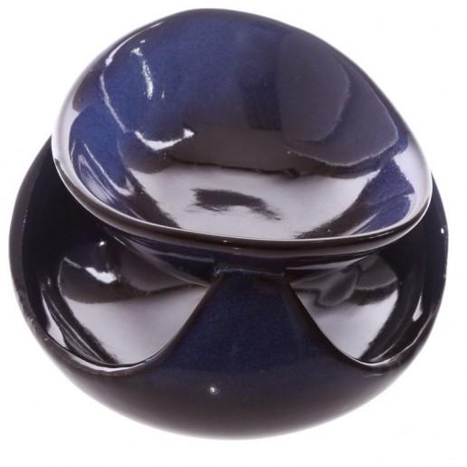 Ceramic Wax Melt Oil Burner - Deep Blue