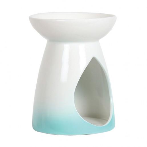 Ceramic Wax Melt Oil Burner - Turquise Teardrop