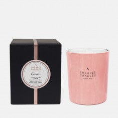 Cerise - Small Jar Candle in a Gift Box Rose Gold Shearer Candles