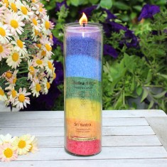 Chakra Candle - Multicolor lifestyle