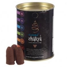 Chakra - Goloka Backflow Incense Cones