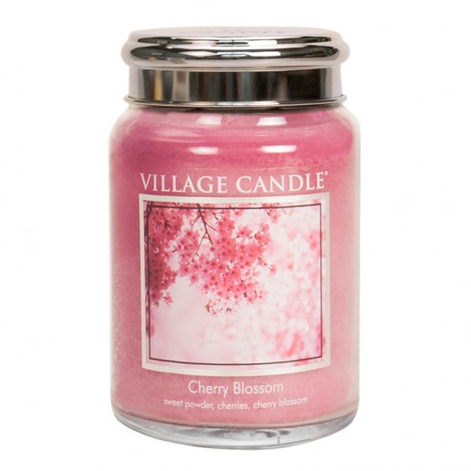 Cherry Blossom - Village Candle Large Jar