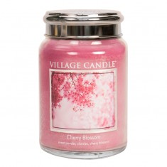 Cherry Blossom - Village Candle Large Jar