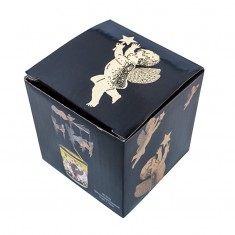 Cherub Silver - Spinning Tea Light Candle Holder box