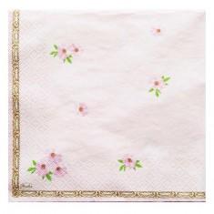 Christening Light Pink Paper Napkins back