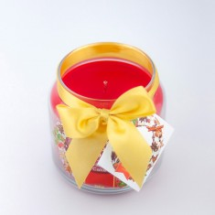 Christmas Cake Scented Candle in Medium Jar angle