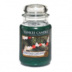 yankee candles christmas garland