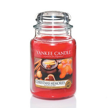 Christmas Memories - Yankee Candle Large Jar