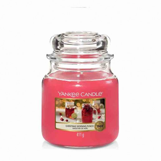 Christmas Morning Punch - Yankee Candle Medium Jar