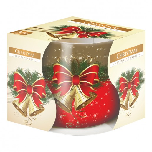 Christmas - Scented Candle in Glass Best Smelling Cheap
