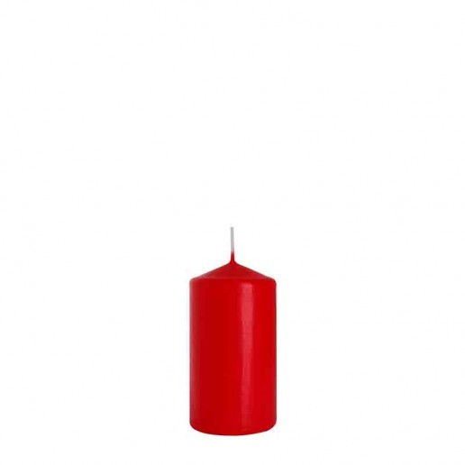 Church Candle 10cm x 6cm - Red