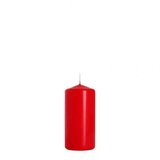 Church Candle 12cm x 6cm - Red