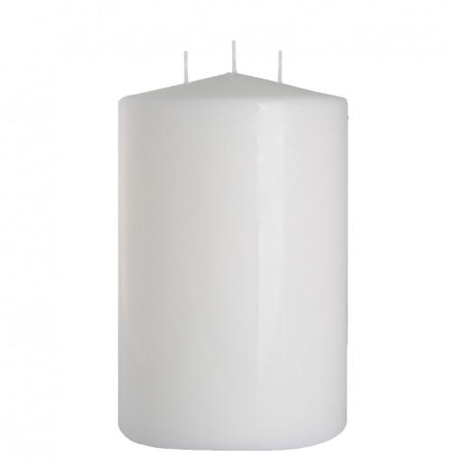 Church Candle 150x250 white 3 wicks