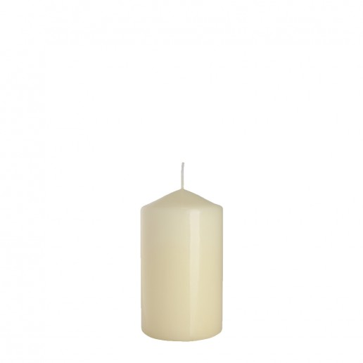 Small Ivory church candle