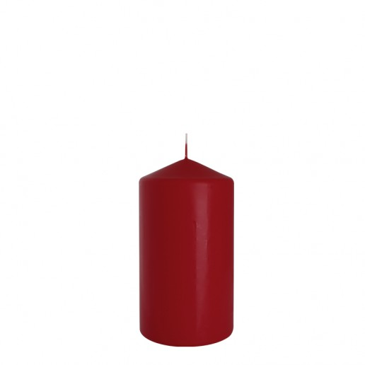 Church Candle 80x150 Burgundy