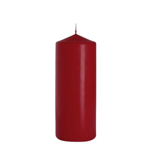 Church Candle 80x200 Burgundy