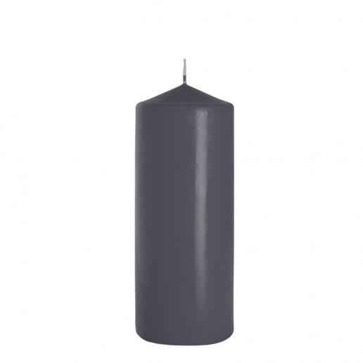 Church Candle 80x200 Grey