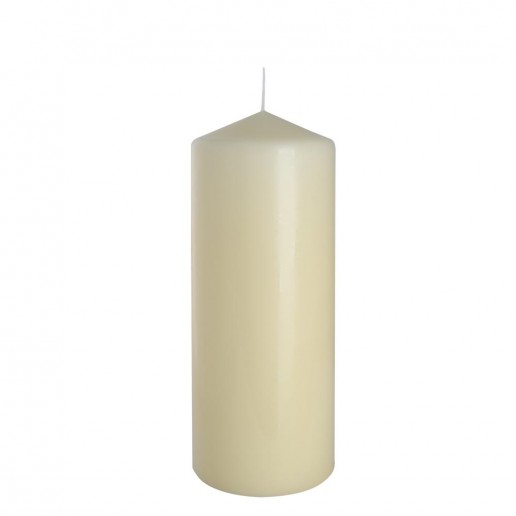 Church Candle 80x200 ivory