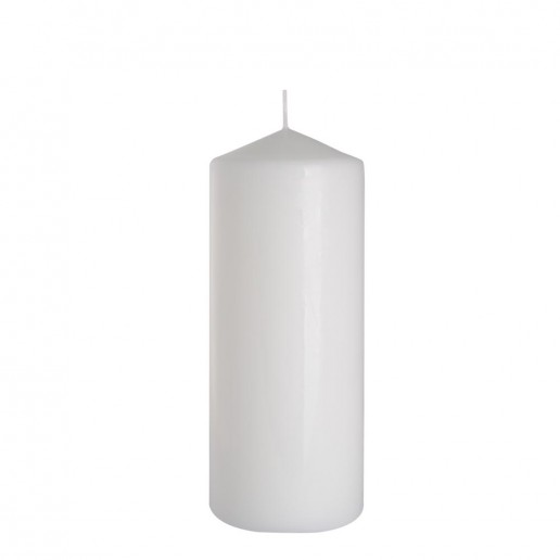 Church Candle 80x200 white