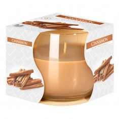 Cinnamon - Scented Candle in Glass Best Smelling Cheap Sale Discounts