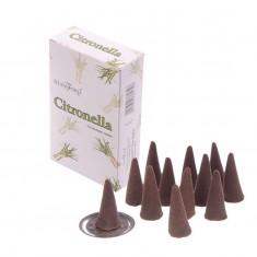 Citronella - Stamford Incense Cones angle