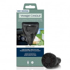 Clean Cotton - Yankee Candle Car Powered Fragrance Diffuser