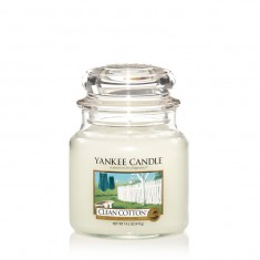 Clean Cotton - Yankee Candle Medium Jar