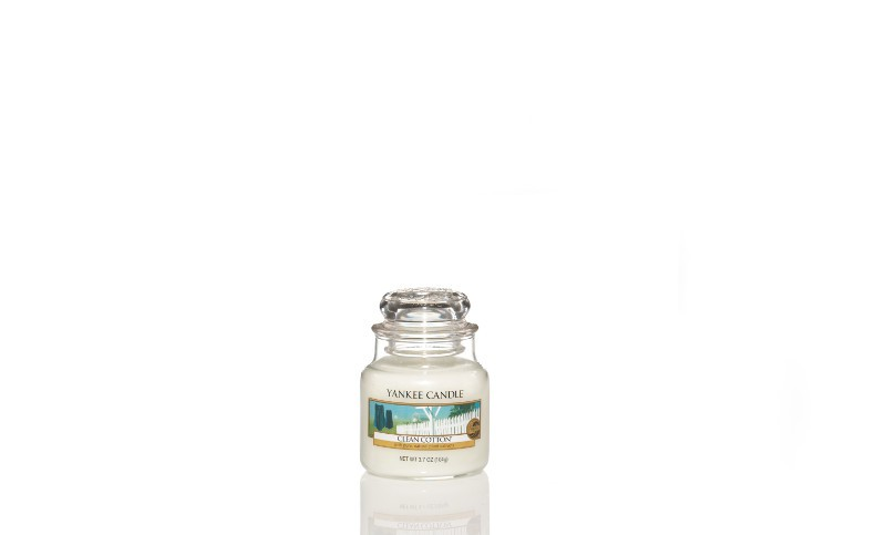Clean Cotton - Yankee Candle Small Jar