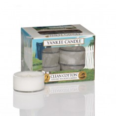 Clean Cotton - Yankee Candle Tea Lights