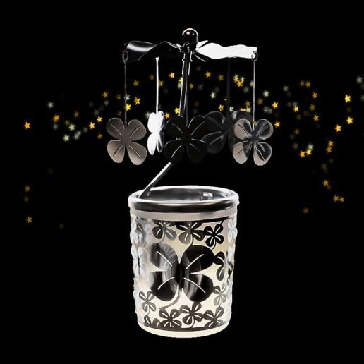 Clover - Spinning Tea Light Candle Holder