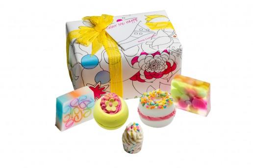 Colour Me Happy Gift Set - Bath Bomb Cosmetics
