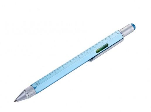 Troika Construction Pen - Metallic Blue